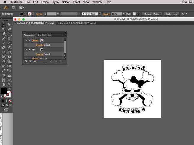 15. Open File in Adobe Illustrator - 50 percent